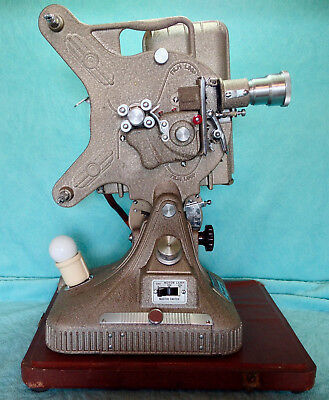 Vintage Keystone 16mm Projector Model Belmont K161 with Xtra Viewer Lens WORKS!