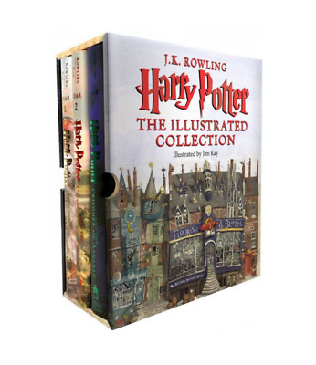 Harry Potter: The Illustrated Collection (Books 1-3 Boxed Set) by J. K. Rowling