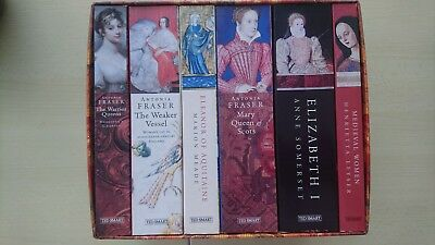 Book Collection Women In History, 6 Books