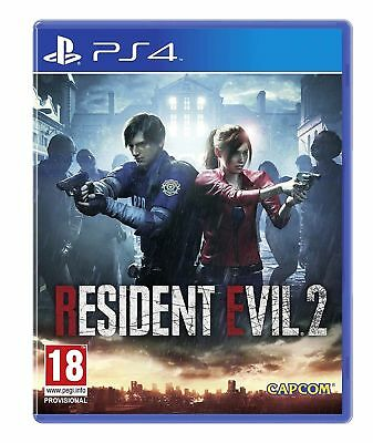 Resident Evil 2 Remake Ps4 Nuovo Sigillato Italiano Pre Order Day One 25/01/19