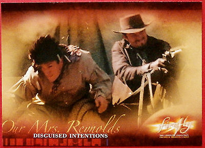 Joss Whedon's FIREFLY - Card #28 - Disguised Intentions - Inkworks 2006