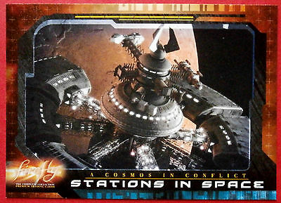 Joss Whedon's FIREFLY - Card #62 - Stations in Space - Inkworks 2006