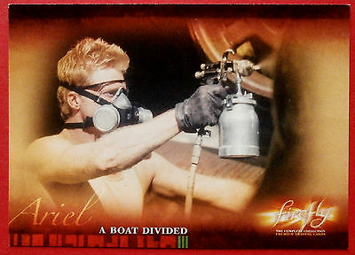 Joss Whedon's FIREFLY - Card #39 - A Boat Divided - Inkworks 2006