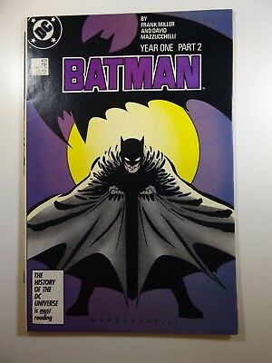 Batman #405 Year One, Part Two Frank Miller Gorgeous NM- Condition!!