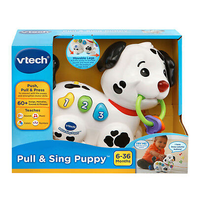 Pull and Sing Puppy Educational Toys for Kids Toddlers Baby Girl Boy Fun Gift