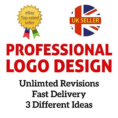 Professional Bespoke Custom Logo Design - Unlimited Revisions 24/7, Unique Idea