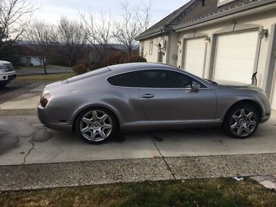 2007 Bentley Continental GT  2007 bentley continental gt with salvaged/ rebuildable title runs and drives.