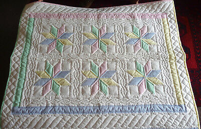 Amish Star Baby Quilt