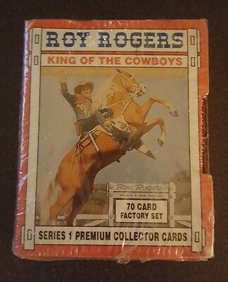Roy Rogers King Of The Cowboys Series 1 Premium Collector Cards 70 Card Set New
