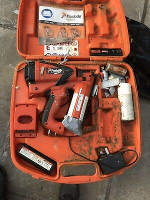 Paslode IM65 Cordless Second Fix Nail Gun Gas Brad Pin Straight Finish Nailer