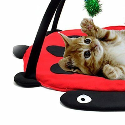 Pet Cat Bed Cat Play Tent Toys Cat Blanket House Pet Furniture With BaR3