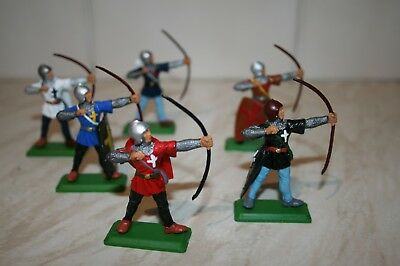 DSG Knight Archers X6 , Britains Deetail compatible. LooK Great.