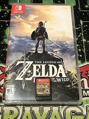 Legend of Zelda: Breath of the Wild (Nintendo Switch) *Authentic!! *Great Price!