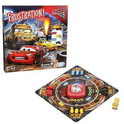 Frustration Board Game Cars 3 Edition Hasbro Brand New Age 5+ Years