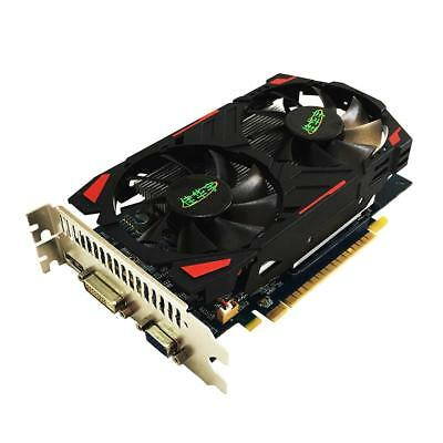 GTX650TI 2G PCI-E GDDR5 128Bit Video Gaming Graphics Card with Dual Cooling Fan