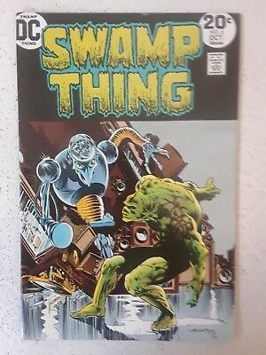 SWAMP THING #6 VF/NM    BERNI WRIGHTSON art!     HIGH GRADE BEAUTY!