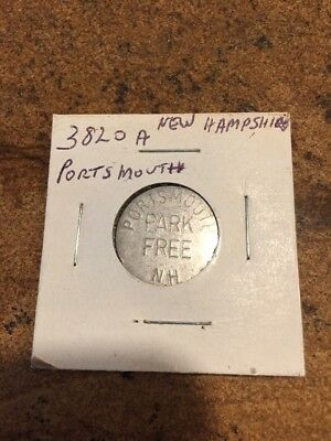 Portsmouth Nh Parking Token