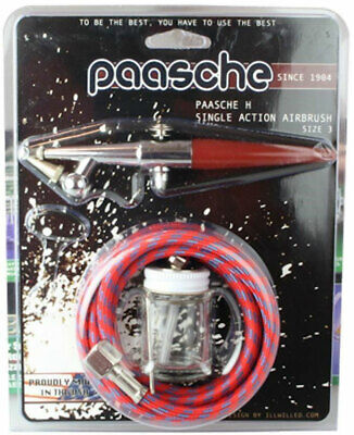 New Paasche Airbrush Basic Set Size 3 H-CARD