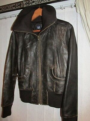 leather distressed dark brown chelsea steampunk bomber cuckoo xmas gift 10 12 m