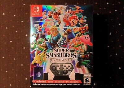 Super Smash Bros Ultimate Special Edition - Nintendo Switch - BRAND NEW!!