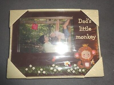 Dads Little Monkey Picture Frame   Kidoodles