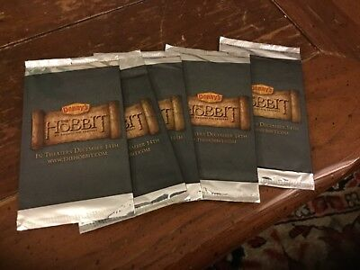 Denny Hobbit trading cards- 5 packs