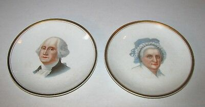 George & Martha Washington Plate T.w. Mather & Sons Dept Stores Westminster Md
