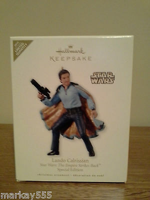 Star Wars TESB Lando Calrissian 2010 Hallmark Keepsake Christmas Ornament NIB
