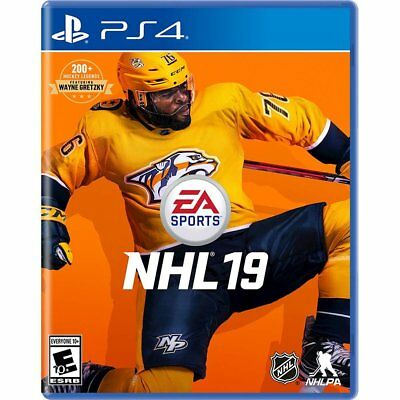 Sony Playstation 4 PS4 NHL 19 PS4 EA Hockey Game 2019 BRAND NEW and SEALED