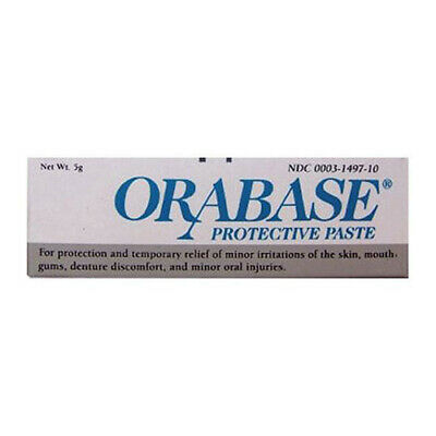 NEW Orabase Cold Sore Protective Paste Protection Relief Raw Weeping 5g