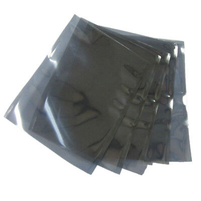 Open Top ESD Anti Static Shielding Bags Electronics Shield Protection Pack Pouch