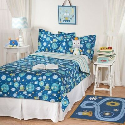 Lolli Living By Living Textiles Single Bed 2pce Set - Robot