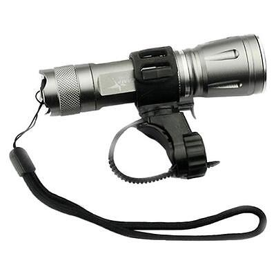 Adjustable Cycling Bicycle Bike Mount Holder for LED Flashlight Torch Clip Clamp