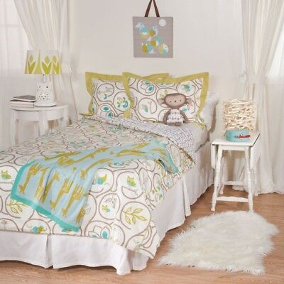 Lolli Living By Living Textiles Single Bed 2pce Set -  Animal Tree