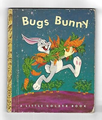 Bugs Bunny A LITTLE GOLDEN COMIC BOOK SIMON AND SCHUSTER New York 1st PRINT 1949