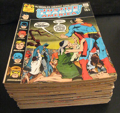 Wow! HUGE LOT of *39* Bronze JUSTICE LEAGUE! ≈ #86-149+More! (VG/FN, FN-, & FN)