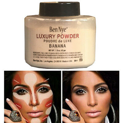 Ben Nye Luxury Banana Powder 1.5 oz Bottle Face Makeup Gift For Women Ladies