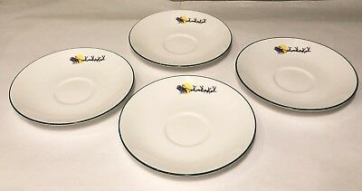 Lenox Saucers Sleighride China Debut Collection 4 Pcs - New