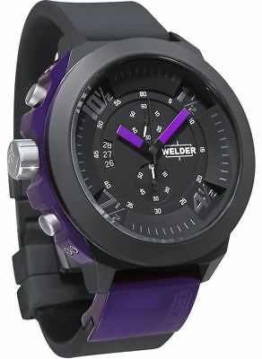 Welder by U-Boat K33 Chronograph Black Ion-plated Steel Mens Sport Watch K33-930