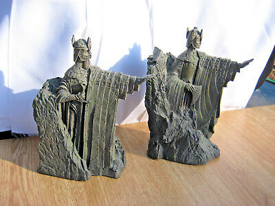 Lord of the Rings The Argonath sculpted BOOKENDS by Sculptor Mary Maclachlan