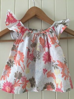 Girls COUNTRY ROAD Top Size 00 (3-6 Months) 100% Cotton