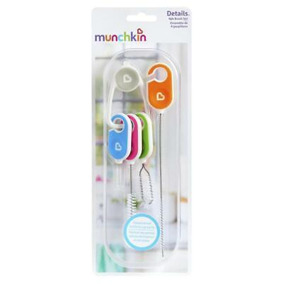 Munchkin Details Cleaning Brush Set 4 Pack Online Only