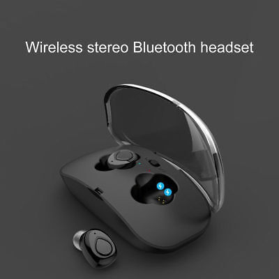 UK Twins Wireless Stereo Earbuds Bluetooth Earphone Headphones For iPhone X XR