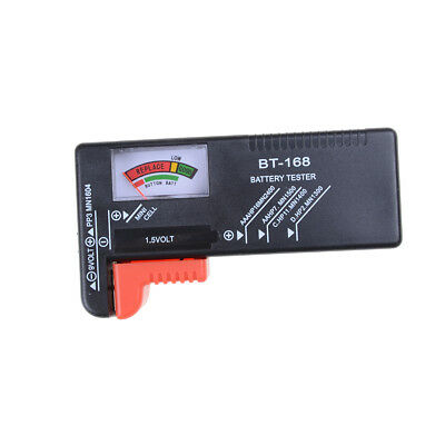 Universal Battery Tester Tool AA AAA C D 9V Button Checker Accessory LS