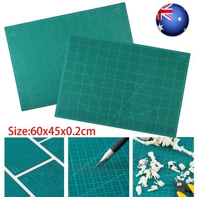 A2 PVC Self Healing Cutting Mat Craft Quilting Grid Lines Printed Board FO