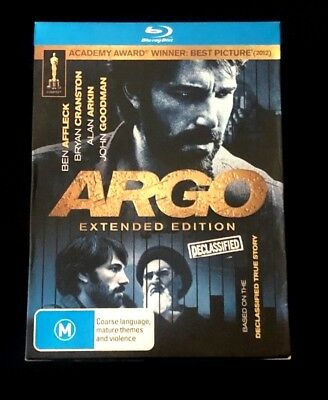 Argo Extended Edition Declassified BluRay Box Set - Never Used Like New!!!
