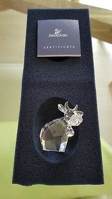 Swarovski Crystal Lovlots Mo Cow - Excellent condition - Like new