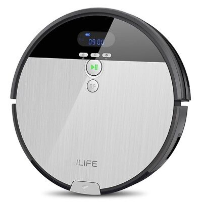 ILIFE V8S Vacuuming Mopping Robotic Cleaner Smart Vacuum Cleaner W/ LCD Display
