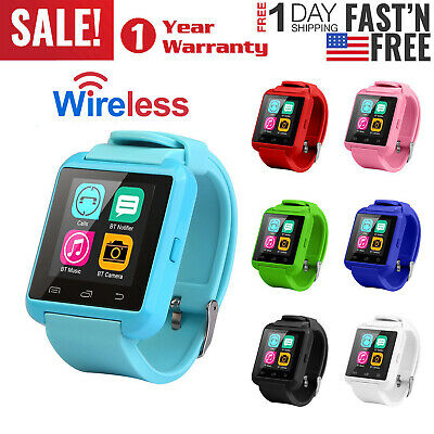 Bluetooth Kid Smart Watch Anti-lost Safe GSM Call For Android Samsung LG ETC