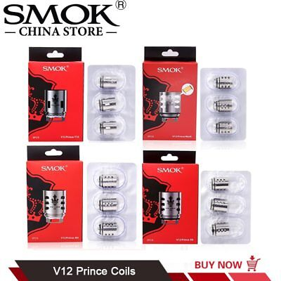 Authentic TFV12 Prince X6 M4 RBA Coils for TFV12 Prince Tank Fit Mag kit UK